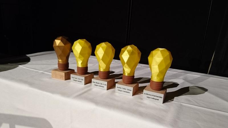 Les trophées en impression 3D